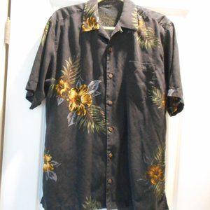 Men's Tommy Bahama Camp Shirt, Hibiscus, Medium